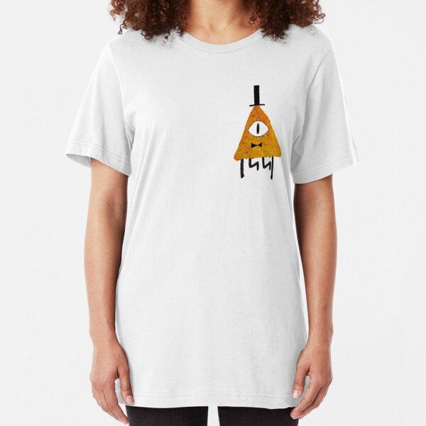Bill Cipher Dorito Illuminacho Slim Fit T-Shirt