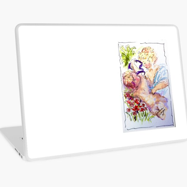 Angel of Compassion Laptop Skin