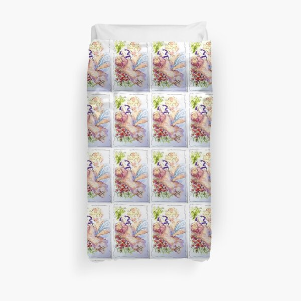Angel of Compassion Duvet Cover