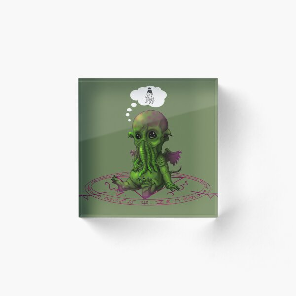 Cute-Thulu Acrylic Block