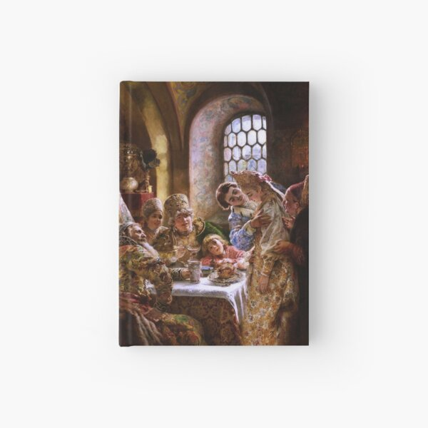 A Boyar Wedding Feast by Konstantin Makovsky Hardcover Journal