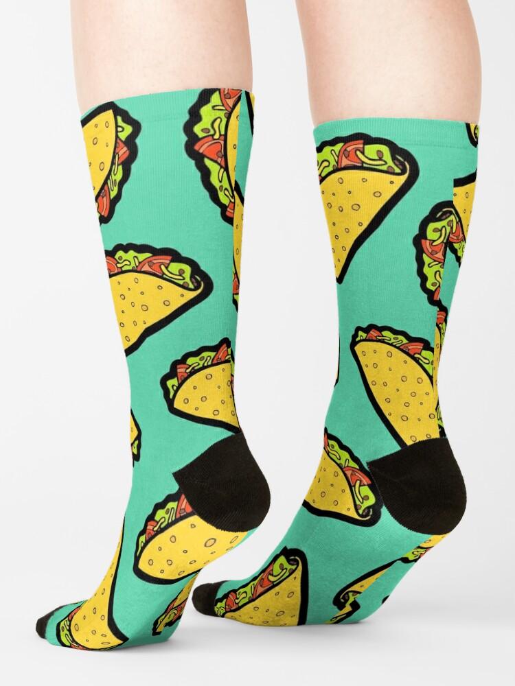 Alternate view of It's Taco Time! Socks