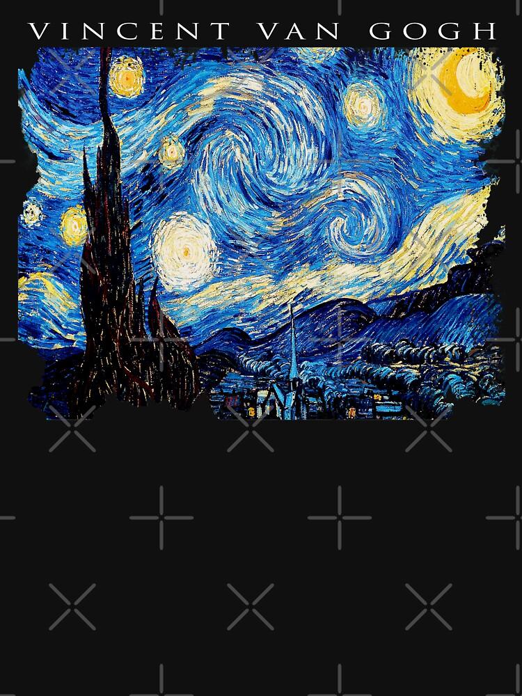 Van Gogh Starry Night  by belugastore
