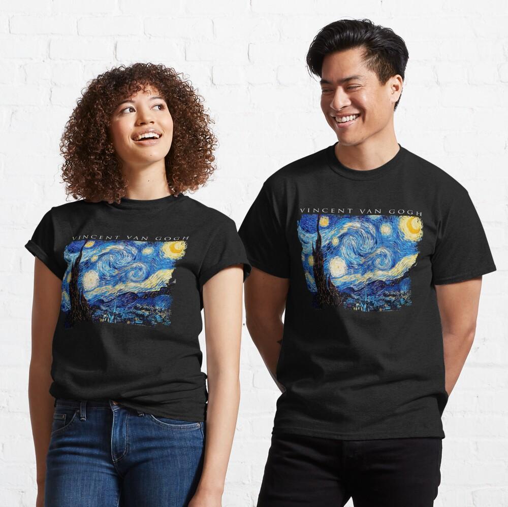 Van Gogh Starry Night  Classic T-Shirt