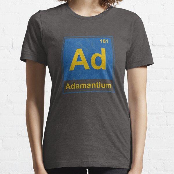 Adamantium Element from the Periodic Table Essential T-Shirt