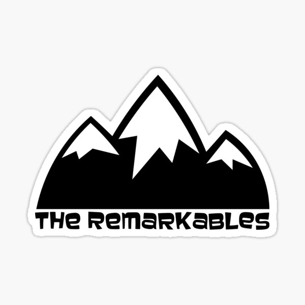The Remarkables Sticker