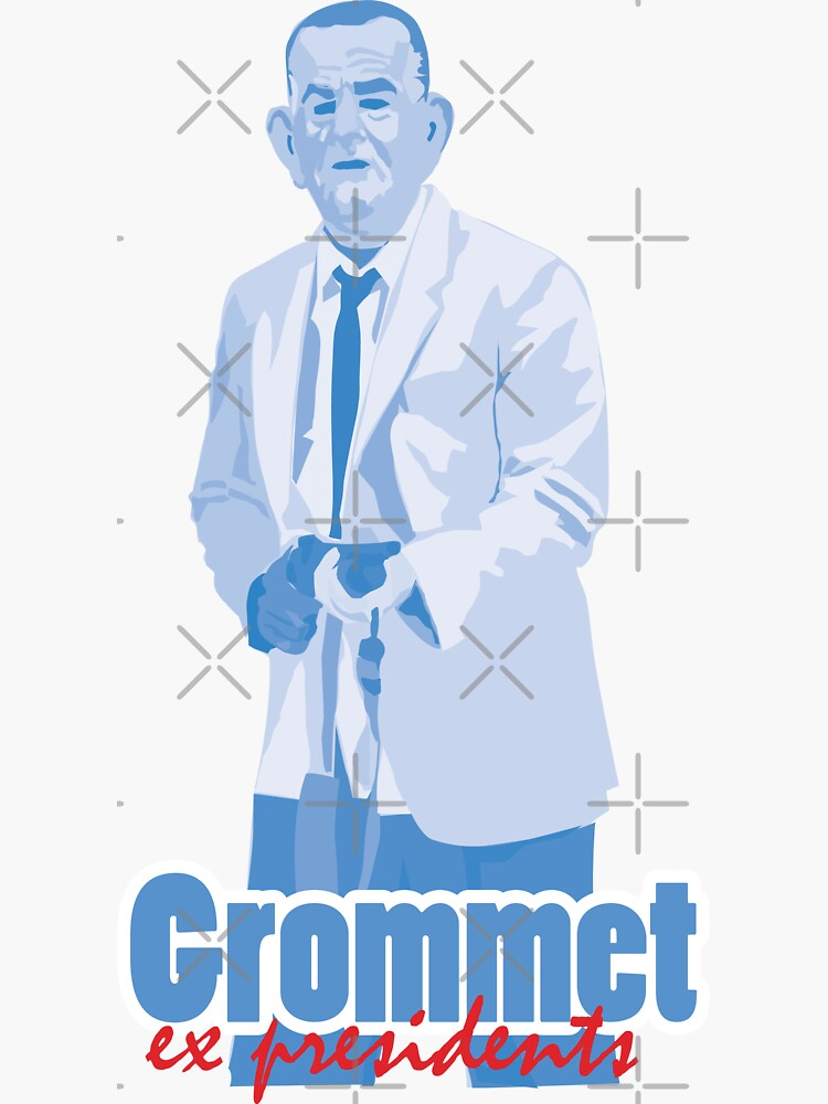 """Grommet  - ex presidents """"Lyndon B. Johnson"""" by mayerarts"""