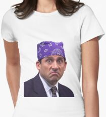prison mike Women's Fitted T-Shirt
