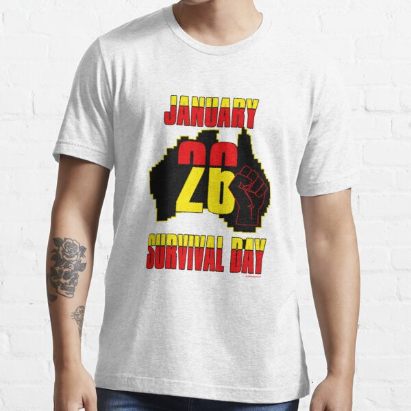 January 26 Survival Dayiii [-0-] Essential T-Shirt