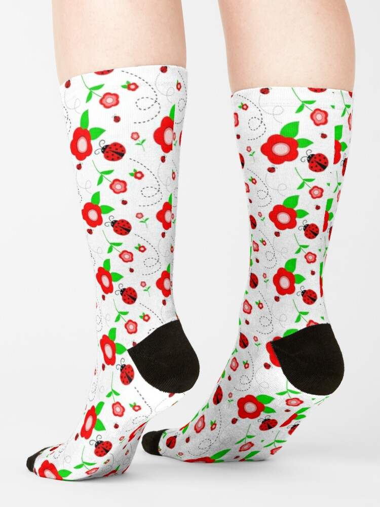 Alternate view of Springtime Socks