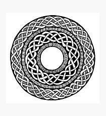 Celtic Ring Photographic Print