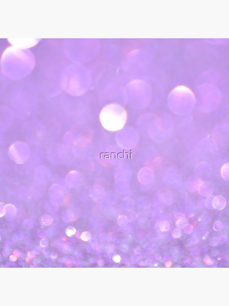 Purple Glitter Bokeh by ranchi