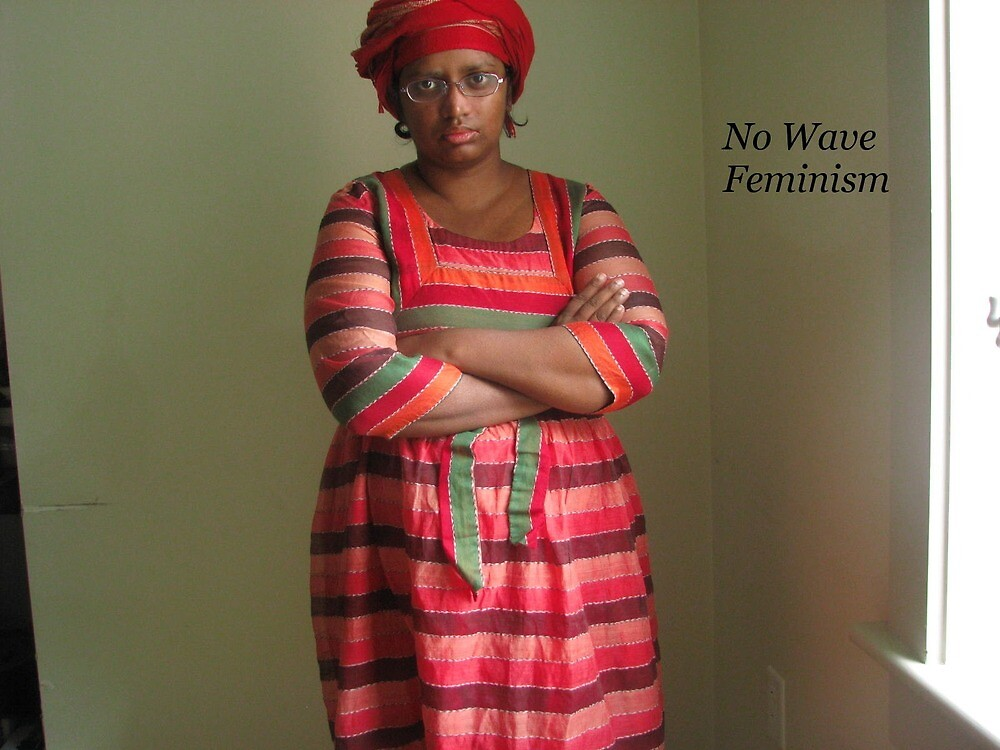 No Wave Feminism (the red and the green) by SajiaSultana