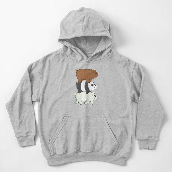 We Bare Bears Kids Pullover Hoodie