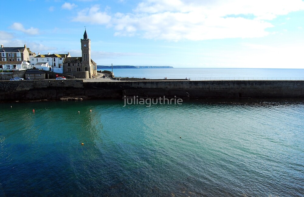 Porthleven clock tower by juliaguthrie