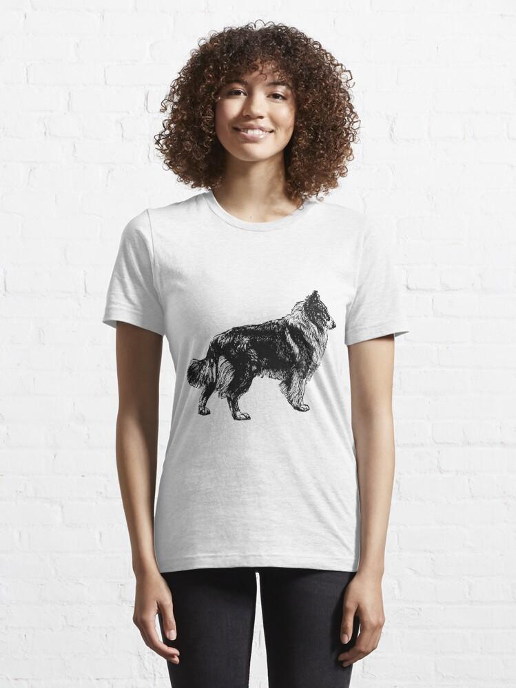 Alternative Ansicht von Collie Essential T-Shirt