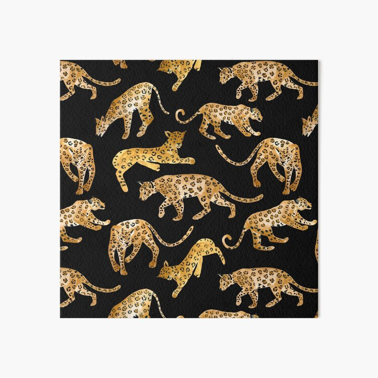 Jaguar Prowl Art Board Print