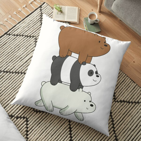 We Bare Bears Coussin de sol