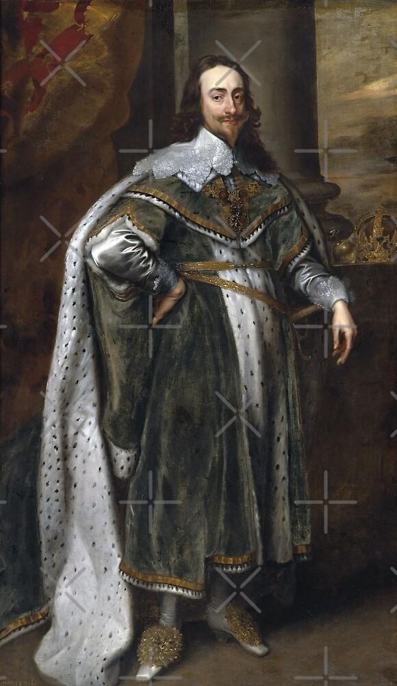 King Charles I of England and Scotland by Patrick Grochocki