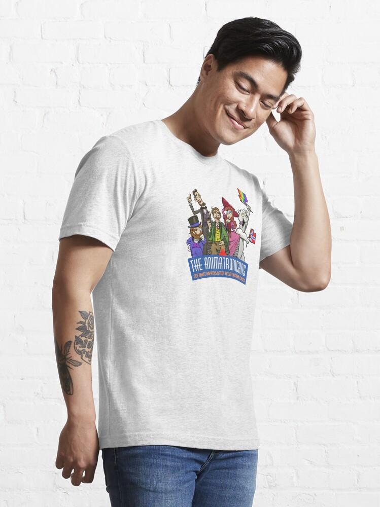 Alternate view of Animatronics logo artwork Essential T-Shirt
