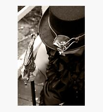 The Hat, the Gadget and the Cane Photographic Print