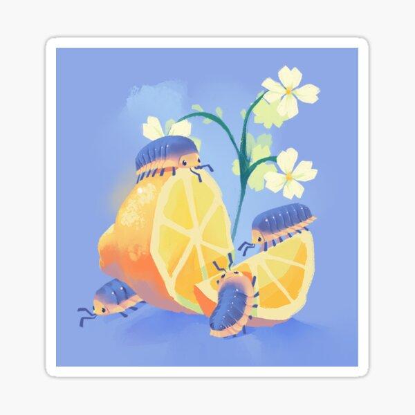 Lemon Frost Isopod Sticker