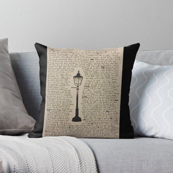 The Lamp Post Throw Pillow