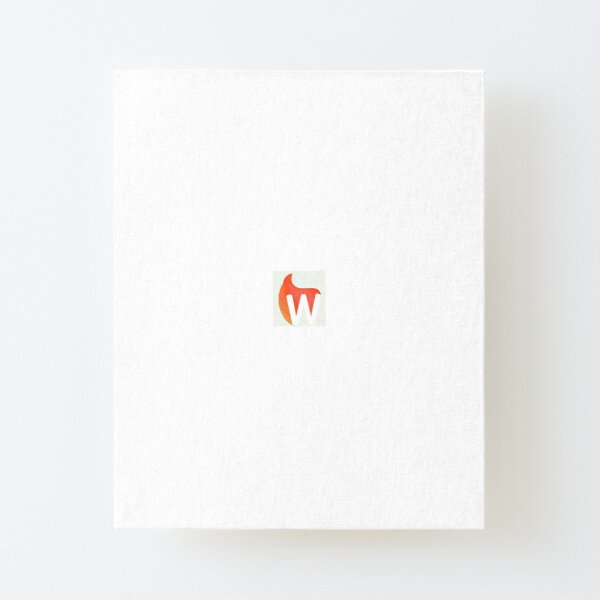 WildFyre Old Logo Canvas Mounted Print