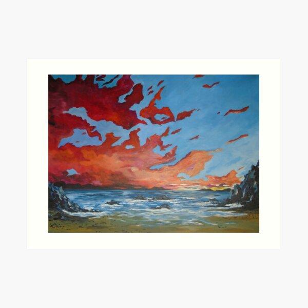 Roaring water bay Art Print