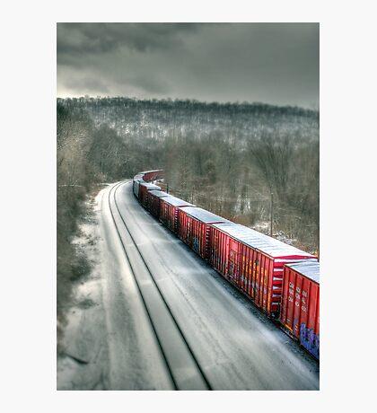 The Winter Run Photographic Print