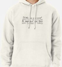Who We Need To Be To Survive Pullover Hoodie