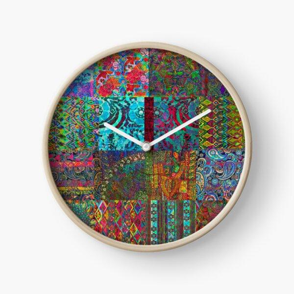 Bohemian Wonderland Clock