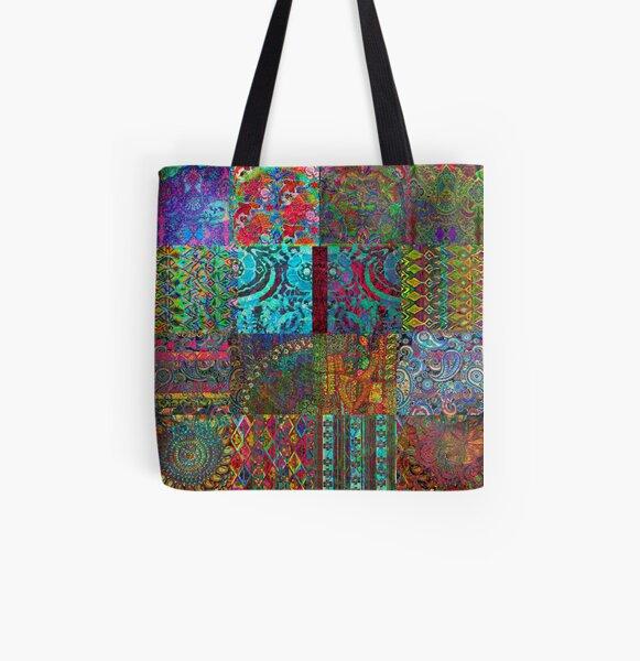 Bohemian Wonderland All Over Print Tote Bag
