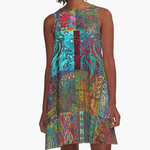 Bohemian Wonderland A-Line Dress