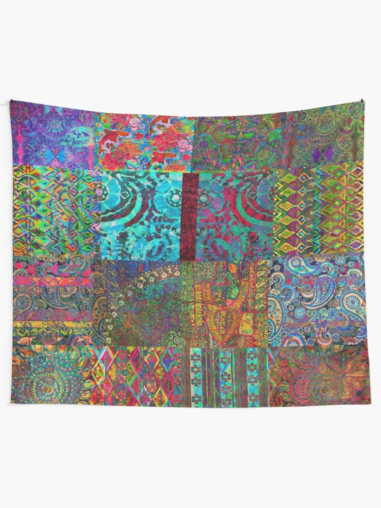 Alternate view of Bohemian Wonderland Tapestry