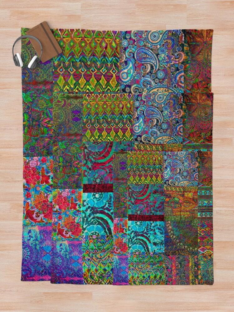 Alternate view of Bohemian Wonderland Throw Blanket