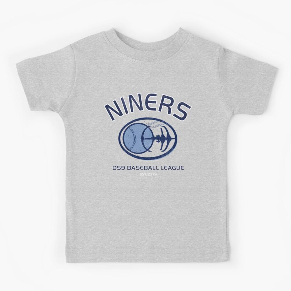Star Trek Deep Space Nine Niners DS9 Baseball League Kids T-Shirt