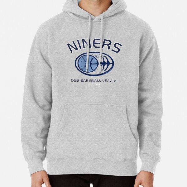Star Trek Deep Space Nine Niners DS9 Baseball League Pullover Hoodie