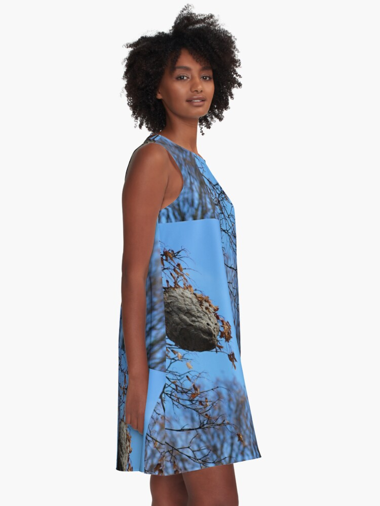 Alternate view of The Magical Hive By Yannis Lobaina  A-Line Dress
