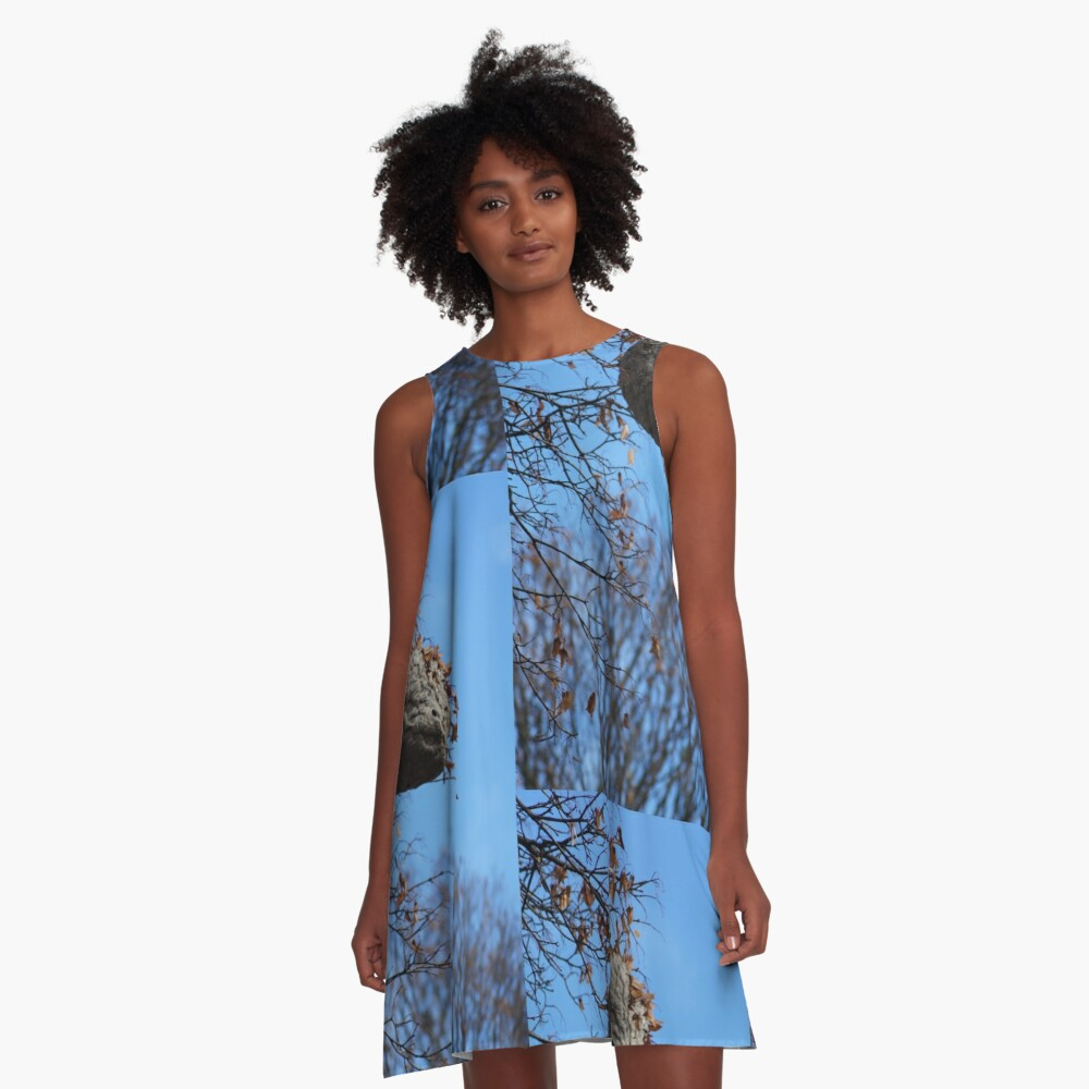 The Magical Hive By Yannis Lobaina  A-Line Dress