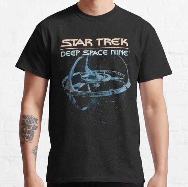 Star Trek Deep Space Nine Space Station Logo Classic T-Shirt