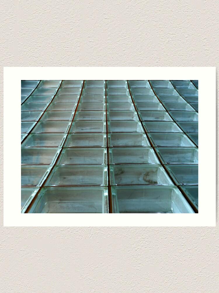 Alternate view of Glass Blocks Art Print