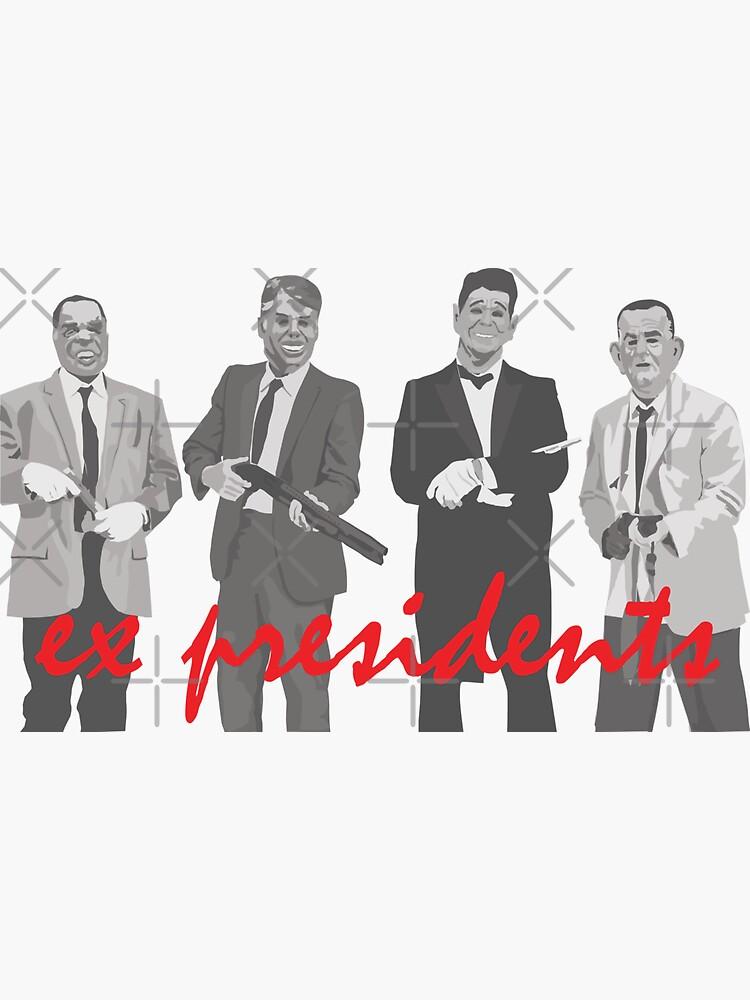ex presidents - point break by mayerarts