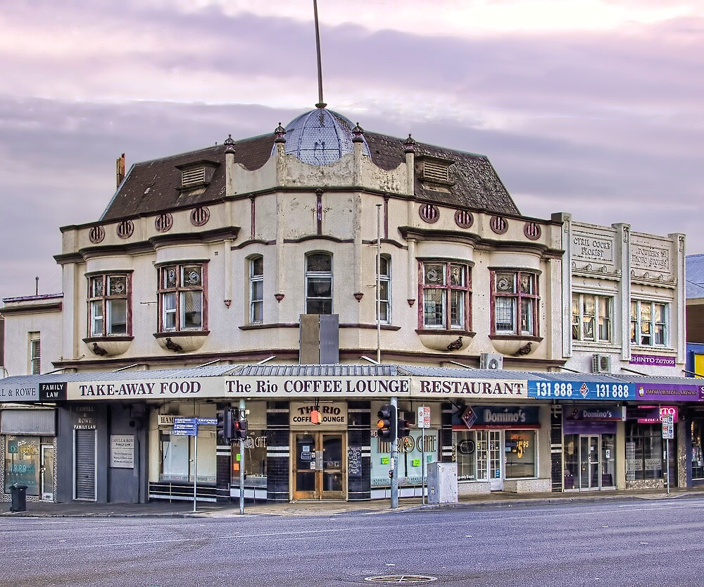 The Former Macrow's Furniture Arcade by Lynden