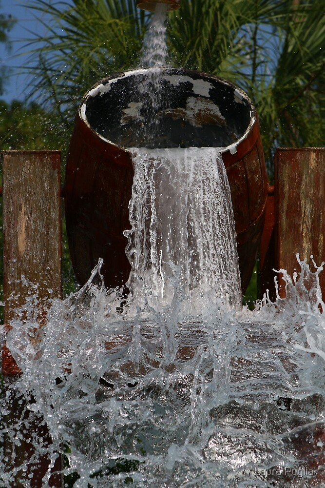 Barrels of Water! by Laura Puglia