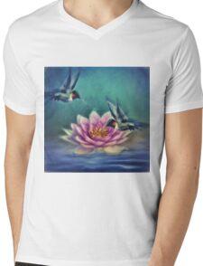 Lotus Flower 2 Mens V-Neck T-Shirt