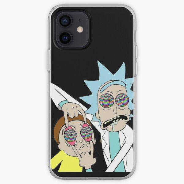 Trippy Rick iPhone Soft Case