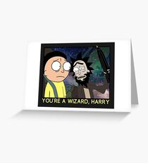 You're a Wizard, Harry Greeting Card