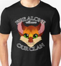 Feuer allein Unisex T-Shirt