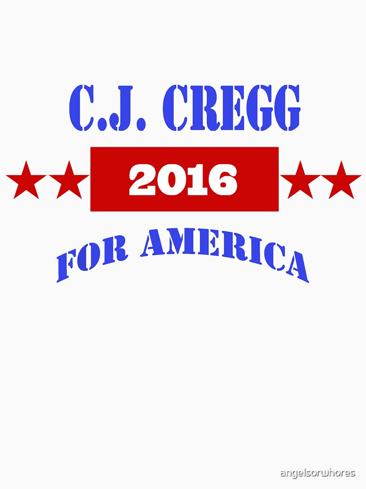 TShirtGifter presents: CJ CREGG 2016 | Unisex T-Shirt